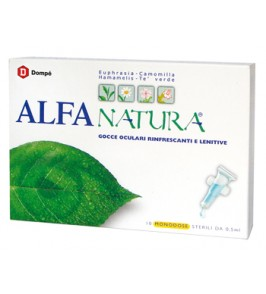 ALFA NATURA GOCCE OCULARI 10 FLACONCINI MONODOSE 0,5 ML