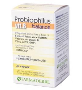 PROBIOPHILUS VITAMINA B 30 CAPSULE