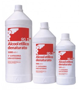 ALCOOL ETILICO DENATURATO 500 ML