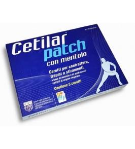 CEROTTO MONOUSO CETILAR PATCH CON MENTOLO 5 PEZZI