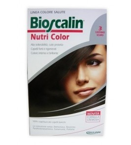 BIOSCALIN NUTRI COLOR 3 CASTANO SCURO SINCROB 124 ML