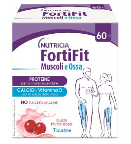 FORTIFIT MUSCOLI&OSSA MIRTILLO ROSSO 7 BUSTINE