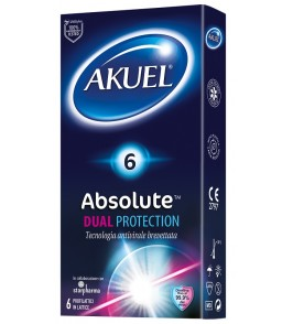 AKUEL ABSOLUTE DUAL PROTECTION 6 PEZZI