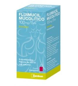 FLUIMUCIL MUCOL*SCIR 100MG/5ML