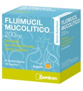 FLUIMUCIL MUCOL*30BUST200MGS/Z