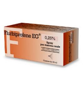FLURBIPROFENE EG*OS SPRAY 15ML