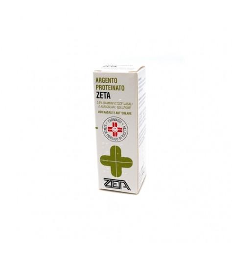 ARGENTO PROTEINATO (ZETA FARMACEUTICI)*BB gtt orl 10 ml 0,5%