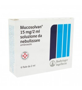 MUCOSOLVAN*NEBUL 6F 15MG 2ML
