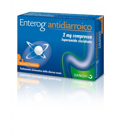 ENTEROG ANTIDIARROICO*12CPR2MG