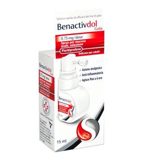BENACTIVDOL GOLA*SPRAY15ML8,75