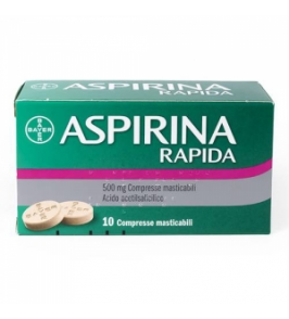 ASPIRINA RAPIDA*10CPRMAST500MG
